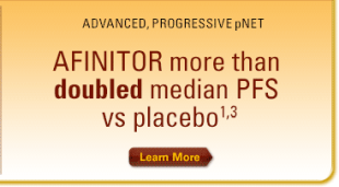 Proven efficacy with AFINITOR